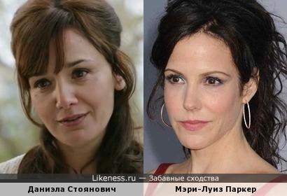 Даниэла Стоянович и Мэри-Луиз Паркер