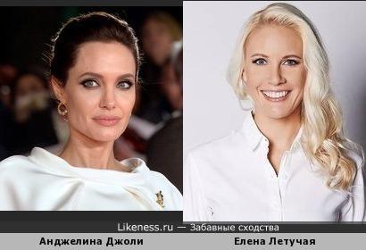 Елена Летучая чем-то напоминает Анджелину Джоли
