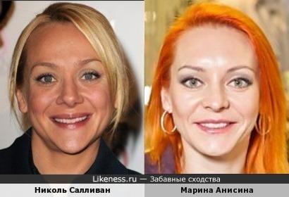 Многоликая Николь Салливан