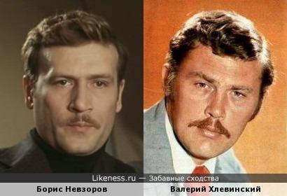 Народные артисты Невзоров и Хлевинский
