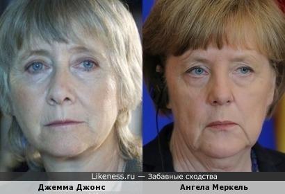 Джонс vs Меркель