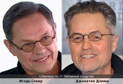 Игорь Скляр и Джонатан Демми