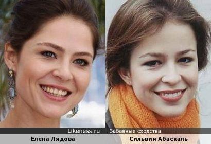 Актрисы - российская и испанская