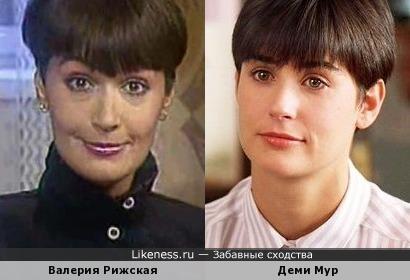 Деми Мур советского телевидения