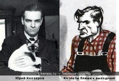 """Кнозоров и мем """"Котлеты ближе к выходным"""""""
