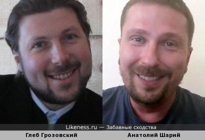 Священник Глеб Грозовский и пропагандист Анатолий Шарий