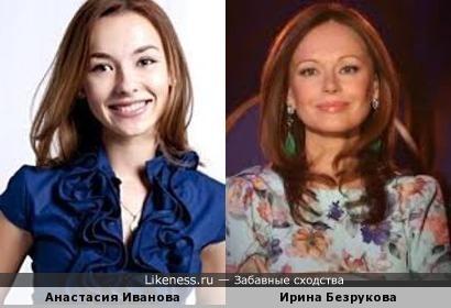 """Анастасия Иванова(""""Универ.Новая общага"""") и Ирина Безрукова"""