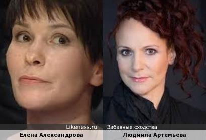 Знаток Елена Александрова и актриса Людмила Артемьева