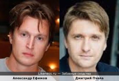 Александр Ефимов и Дмитрий Пчела