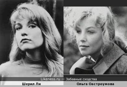 """Шерил Ли (""""Лора Палмер"""") похожа на Ольгу Остроумову"""