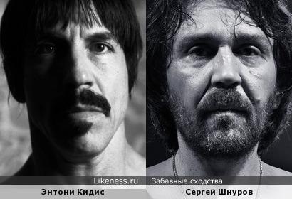 Энтони Кидис и Сергей Шнуров