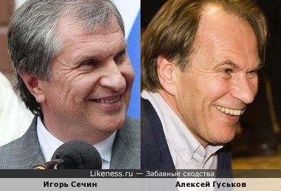 Игорь Сечин и Алексей Гуськов