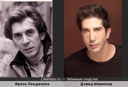 Фрэнк Ланджелла похож на Дэвида Швиммера