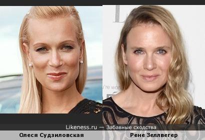 Олеся Судзиловская и Рене Зеллвегер после пластики: хотелось как лучше, а получилось как всегда