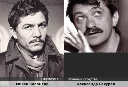 Михай Волонтир и Александр Сокуров