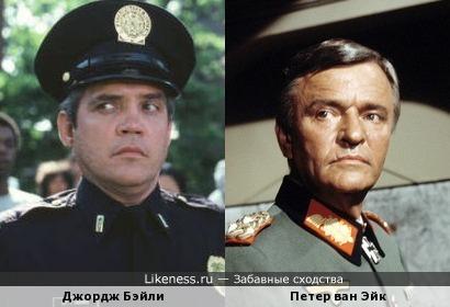 Джордж Бэйли и Петер ван Эйк