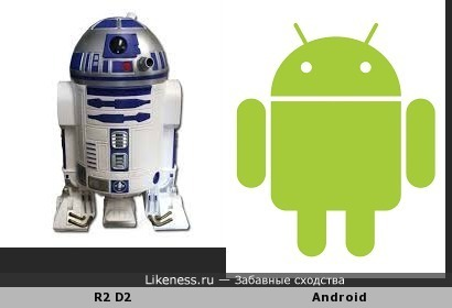 "Логотип ""Аndroid""-ностальгия по ""Звездным войнам"""