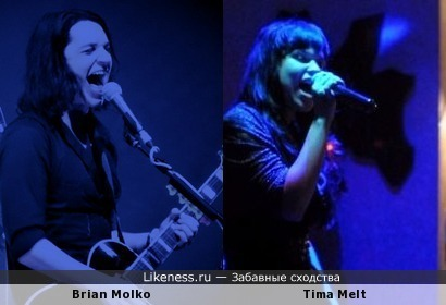 Tima Melt напоминает Брайана Молко на этой фото