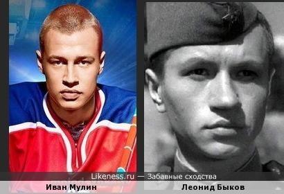 Иван Мулин похож на Леонида Быкова