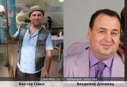 Виктор Гевко похож на Владимира Данельца
