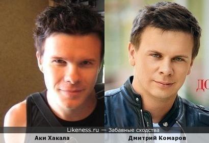 Музыкант The Rasmus Аки Хакала и путешественник Дмитрий Комаров