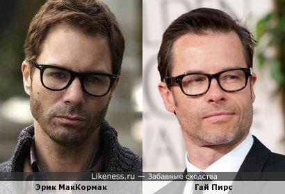 Ну очки-то точно похожи :)