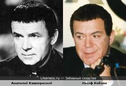 Анатолий Кашпировский похож на Иосифа Кобзона