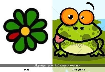 Лягушка ICQ-шка :)