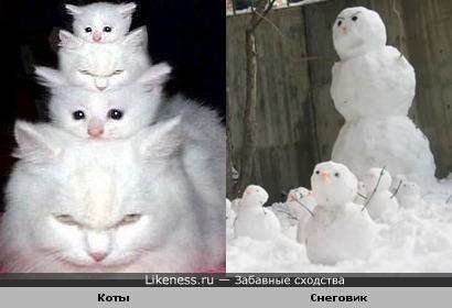 Это КотоСнеговик, а чего добился Ты? :)))