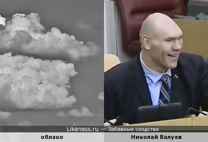 Облако похожее на Валуева