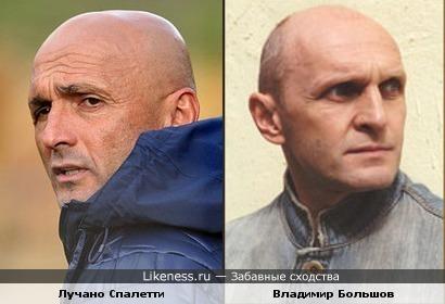 Лучано Спалетти похож на актера Федора Большова
