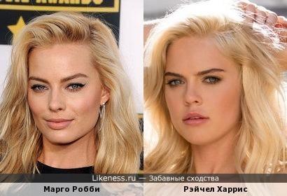 Рэйчел Харрис(из Playboy) как две капли похожа на Марго Робби