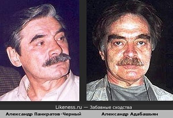 Александр Панкратов-Черный похож на Александра Адабашьяна