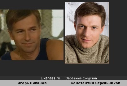 Игорь Ливанов и Константин Стрельников