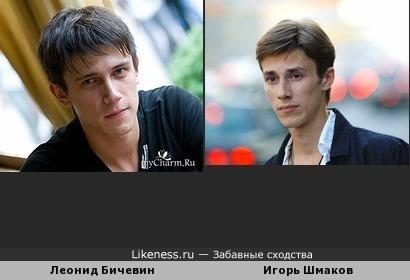 Леонид Бичевин и Игорь Шмаков