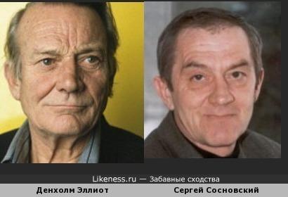 Денхолм Эллиот и Сергей Сосновский