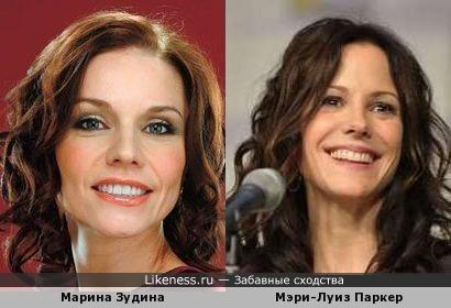 Марина Зудина и Мэри-Луиз Паркер