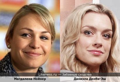 Магдалена Нойнер и Даниэла Денби-Эш