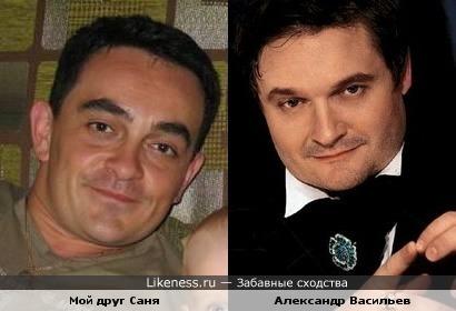 Мой друг похож на Васильева