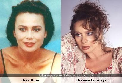 """Очень похожие актрисы, если посмотреть """"Шоколад"""" схожесть еще более очевидна"""