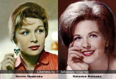 Мне кажется, что эти актрисы похожи