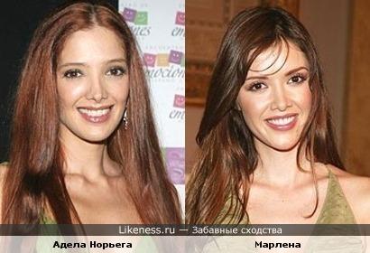 Латиноамериканские актрисы похожи, как двойняшки
