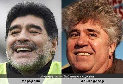 Если Диего Марадону отбрить и разбудить то получится Пабло Альмодовар!