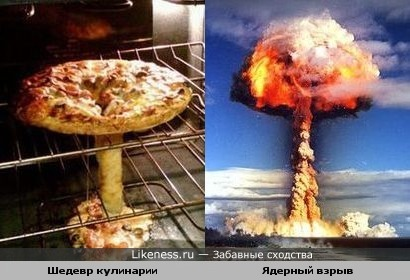 Пицца VS Взрыв