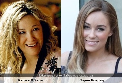 Мама Кевина и Лорен Конрад