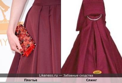 Слинги на упаковке похожи на платья