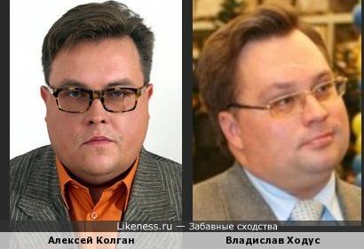 Бывший омский министр похож на Колгана