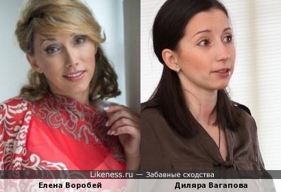 Диляра Вагапова напоминает Воробей
