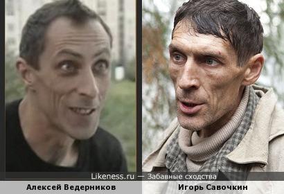 Ведерников и Савочкин похожи