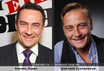Сухомлинов похож на Ларина